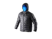 Pánská zimní bunda MEMPHIS, černo-modrá, vel. XL