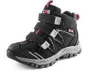 Dětská kotníková obuv CXS SPORT, černo-šedá
