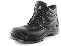Zimní kotníková obuv s ocelovou špicí SAFETY STEEL NICKEL S3