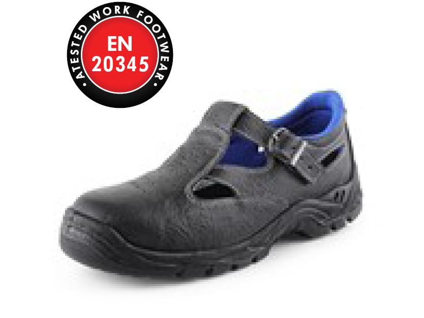 Sandál s ocelovou špicí DOG TERRIER S1