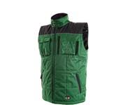 Pánská zimní vesta SEATTLE, zeleno-černá