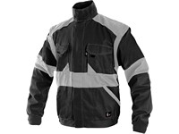 Jacket CXS LUXY EDA, men´s, black-grey