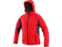 Pánská zimní bunda CLEVELAND, červeno-šedá