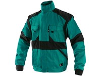 Jacket CXS LUXY HUGO, winter, men´s, green-black