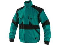 Pánská zimní blůza CXS LUXY HUGO, zeleno-černá
