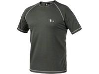 Pánské funkční tričko ACTIVE, kr. rukáv, šedé, vel. XL