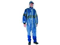 Raincoat, CXS ONETIME, polyethylen, disposable