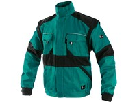 Jacket CXS LUXY EDA, men´s, green-black