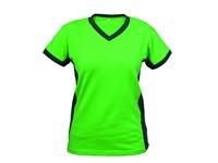Dámské tričko s krátkým rukávem SIRIUS THEA, zeleno-šedé