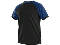 Tričko s krátkým rukávem OLIVER, černo-modré