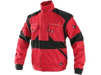 Jacket CXS LUXY EDA, men´s, red-black