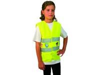 Dětská reflexní vesta TEDDY, žlutá, vel. XS