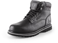 Ankle shoes ROAD CLARKE, black, size  47