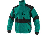 Jacket CXS LUXY EDA, prolonged, men´s, green-black