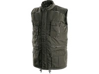 Padded vest OHIO, winter, men's, green