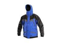 Pánská zimní bunda OMAHA, modro-černá