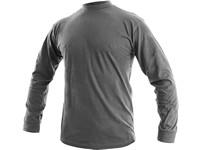 Pánské tričko s dlouhým rukávem PETR, zinkové