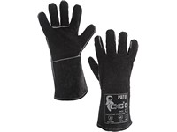 Svářecí rukavice PATON, černé, vel. 11