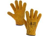Kožené rukavice AKER, vel. 10