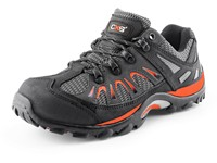 Low footwear combined trekking ISLAND IBIZA, black-orange