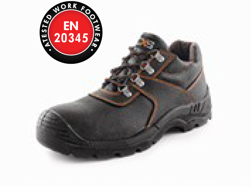 Low footwear CXS STONE PYRIT S3, black