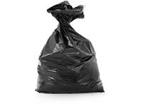 Garbage bag 60 x 120 cm, black