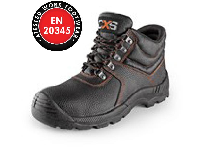 Ankle footwear STONE MARBLE S3, black