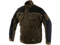 Jacket ORION OTAKAR, men´s, brown-black