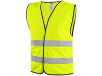 Vest 2RP, high visible, yellow