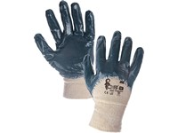 Gloves JOKI, dipped in nitrile, blue