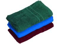 Froté ručník, 50 x 100 cm, zelený