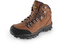 Ankle  comined footwear CXS GO-TEX MONT BLANC , brown