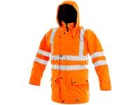Pánská reflexní bunda OXFORD, 5v1, oranžová