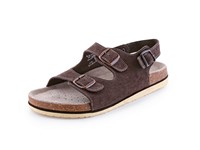 Sandals CORK FILL, ladies´, brown