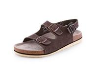 Dámské sandále CORK FILL, hnědé