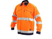 Men ́s  jacket high visible NORWICH, orange-blue