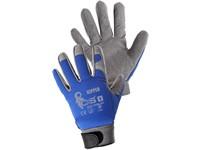 Kombinované rukavice KIPPER, vel. 10