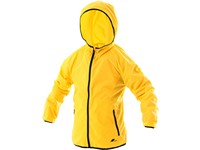Dětská lehká bunda AUGUSTA, žlutá
