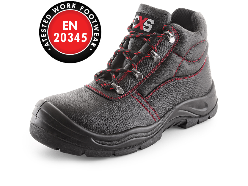 Kotníková obuv s ocelovou špicí STONE BASALT S3