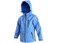 Dětská softshell bunda DERBY, modrá