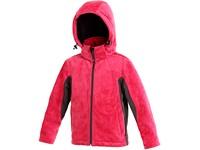 Dětská softshell bunda DOVE, růžovo-šedá