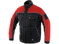 Jacket ORION OTAKAR, winter, men´s, black-red
