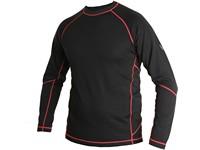 Tričko EVEREST, funkční, pánské, černo-červené