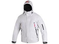 Pánská zimní bunda WINNIPEG, bílo-šedá