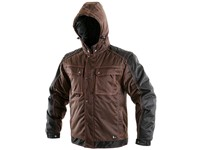 Men ́s padded jacket 2in1 IRVINE, winter, brown-black