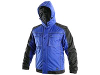 Men ́s padded jacket 2in1 IRVINE, winter, blue-black
