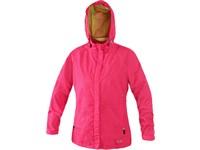 Dámská bunda ONTARIO, růžovo-zelená