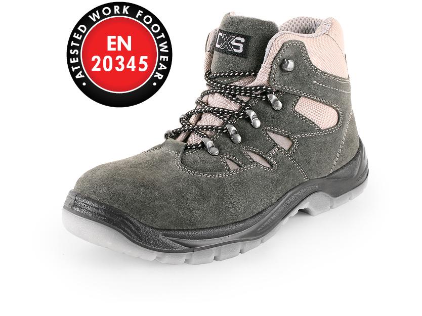 Kotníková obuv s ocelovou špicí DOG BEAGLE S1P