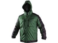 Men ́s padded jacket 2in1 IRVINE, winter, green-black