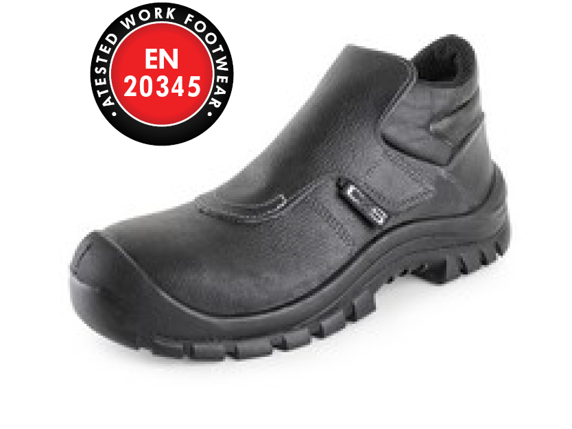 Kotníková obuv s ocelovou špicí BOND S3